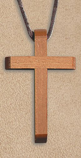 Beveled Cross Pendant - 12/pk