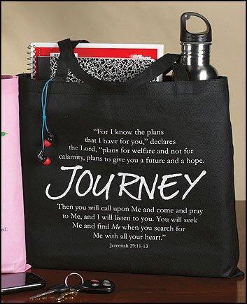 Journey Graduation Tote Bag