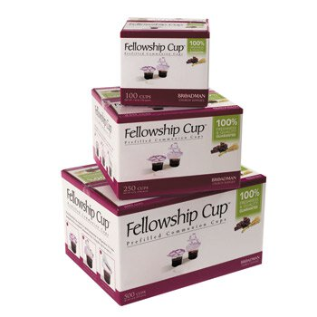 Fellowship Cup™ Wafer and Juice Set  - 100/bx