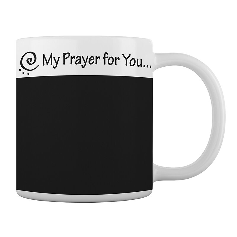 My Prayer for You Chalkboard Mug - 12/pk