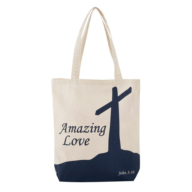 Amazing Love Tote Bag With Inside Pocket   12/pk