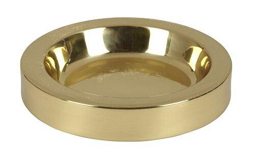 Solid Brass Communion Tray Center Bread Plate