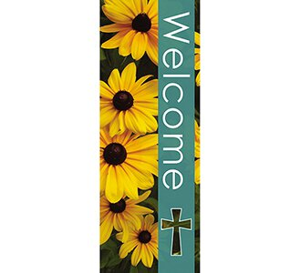 Seasons Welcome Series X-Stand Banner - Summer