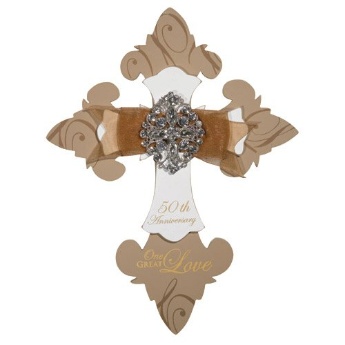 50th Anniversary Wall Cross - 2/pk