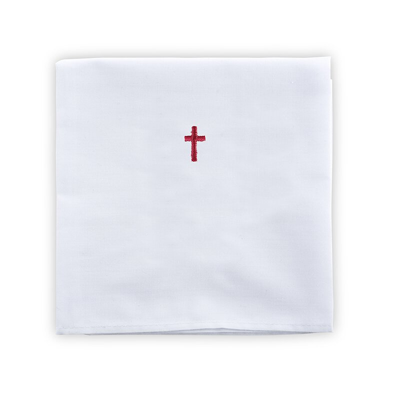 100% Linen Corporal with Red Cross - 12/pk