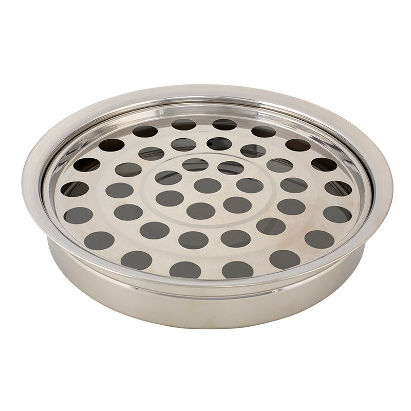 Silver Finish Stackable Communion Tray