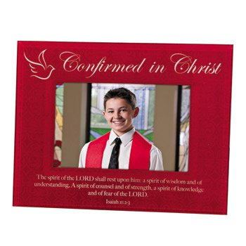 Confirmed in Christ Confirmation Photo Frame - 4/pk