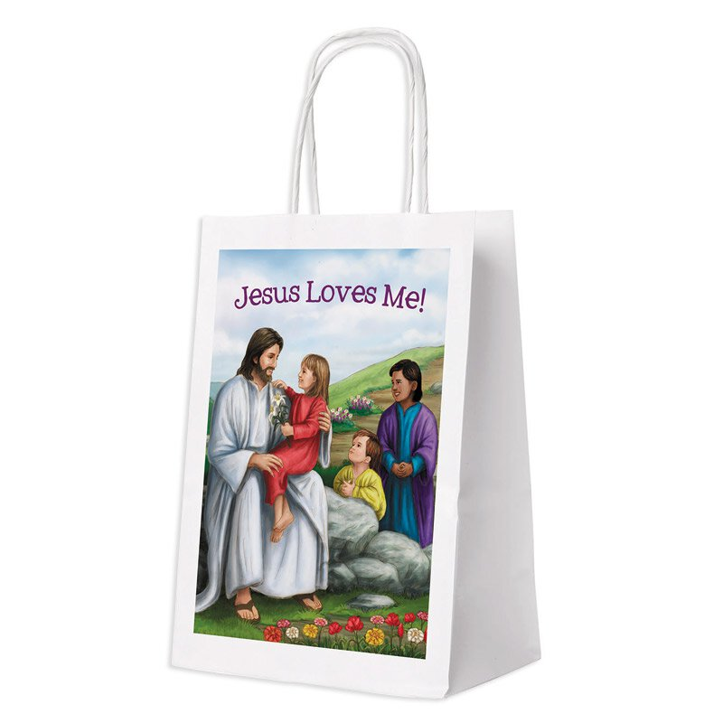 The easter story gift bag pk