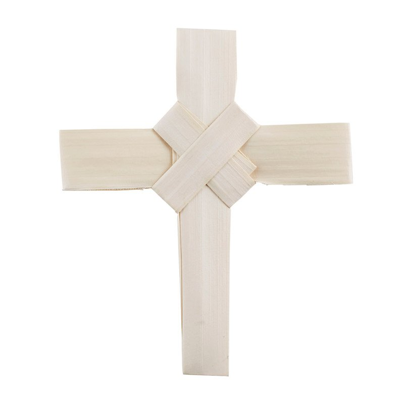 Palm Cross with Crossover Center - 100/pk