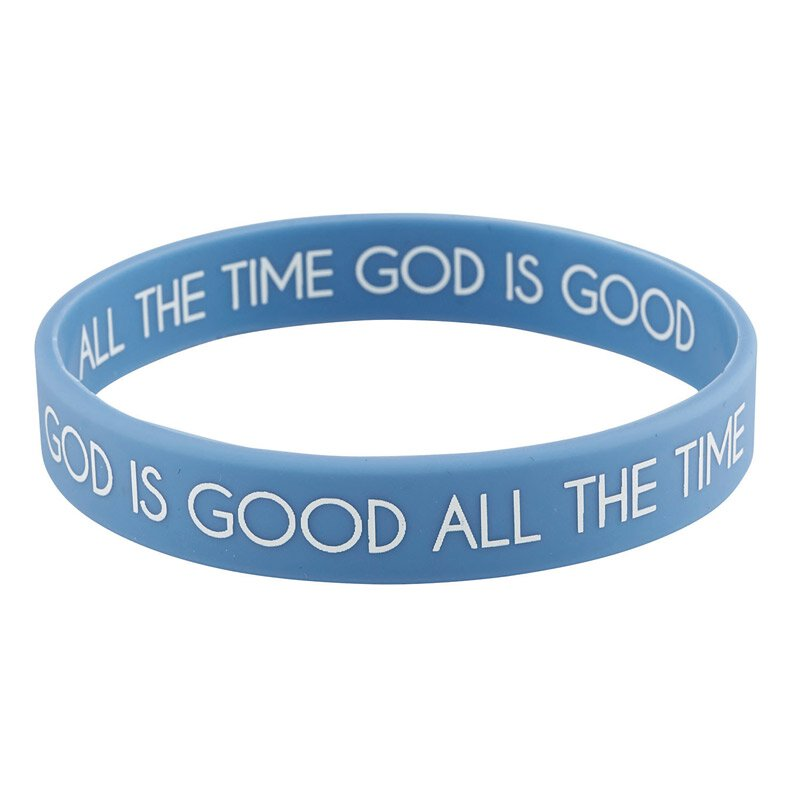 God Is Good All The Time Bracelet With Card 24pk