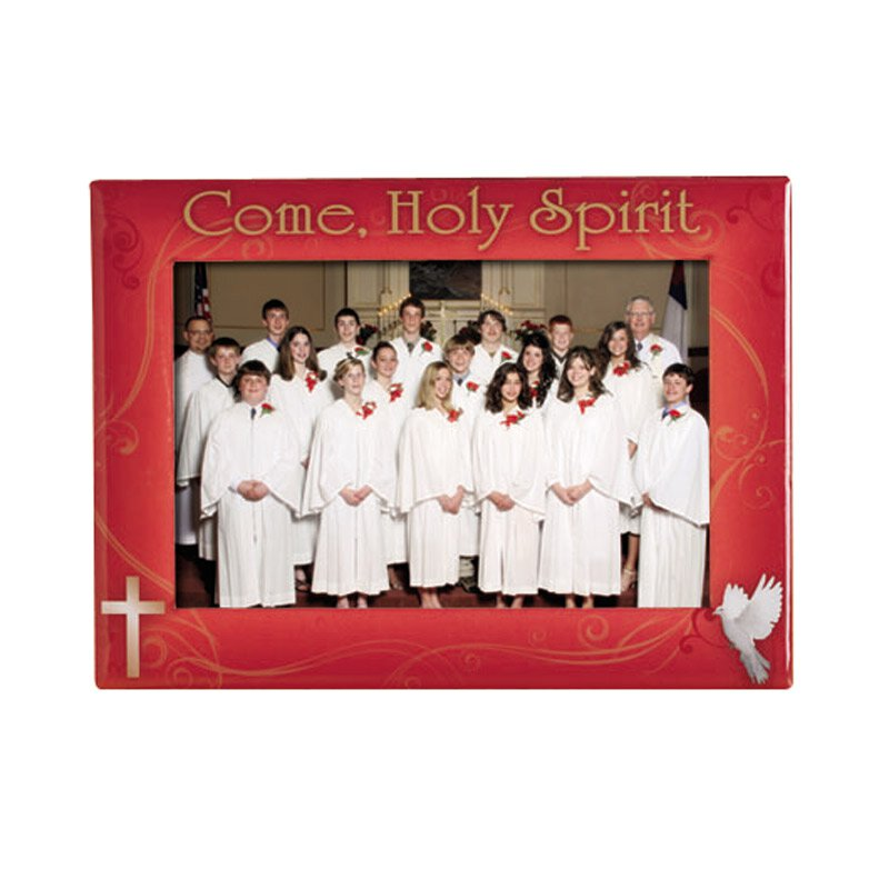 Come Holy Spirit Confirmation Photo Frame - 6/pk