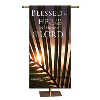 Promise Series Banner - Blessed is He