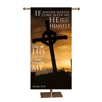 Promise Series Banner - Take Up His Cross