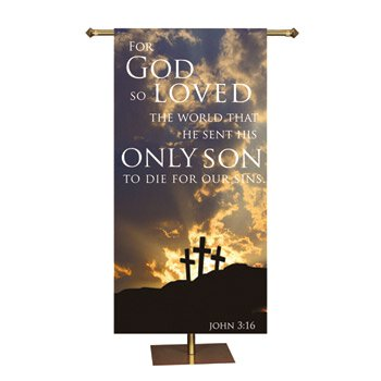 Promise Series Banner - For God So Loved