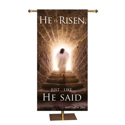 Promise Series Banner - He Is Risen