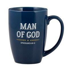 Man of God Gift Mug - 6/pk