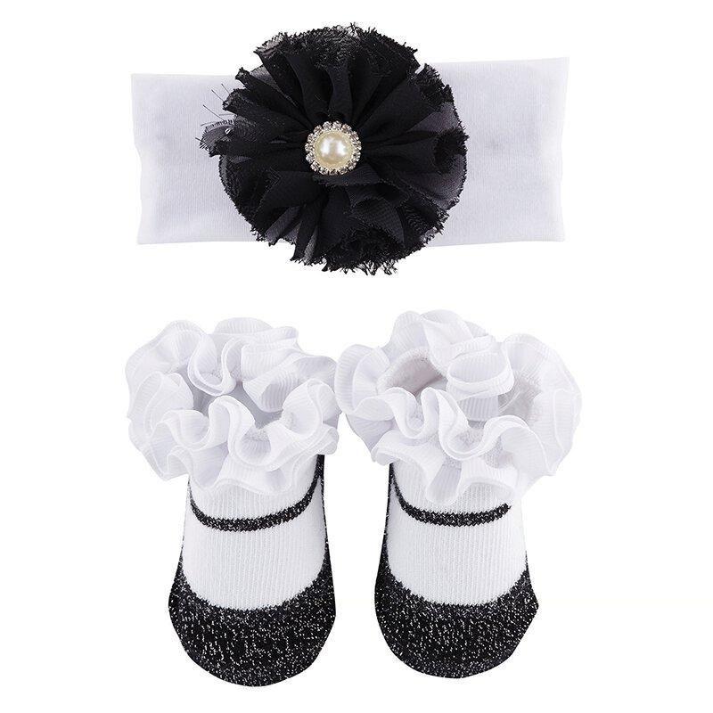 Black matching socks /& Headband
