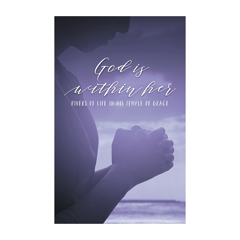 God is Within Her Devotional Book - 12/pk (1 to 3 packages)