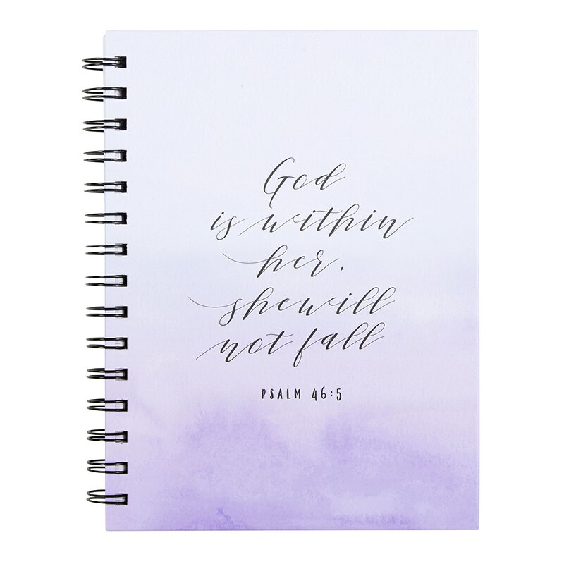 God is Within Her Notebook - 6/pk