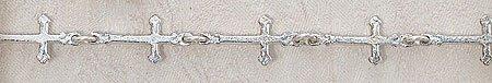 Cross Bracelet-Silver