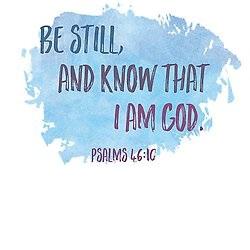 Pass It On Be Still