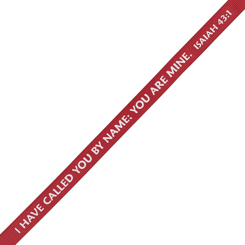I Have Called You by Name Inspirational Lanyard - 24/pk