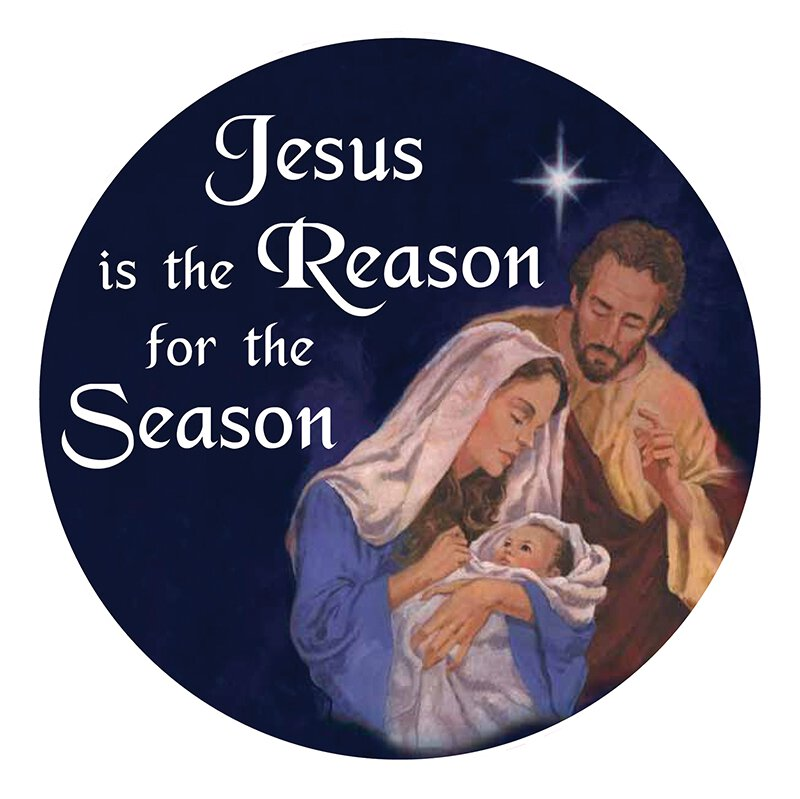 Jesus is the Reason for the Season Auto Magnet - 24/pk