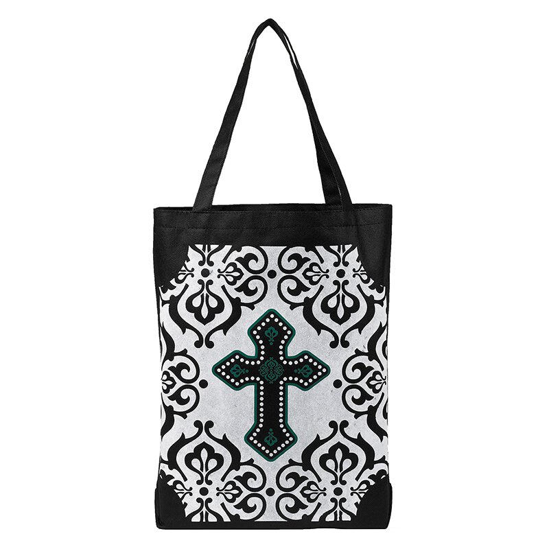 Cross Tote Bag - 12/pk