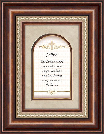 Framed Tabletop Christian Verses - Father