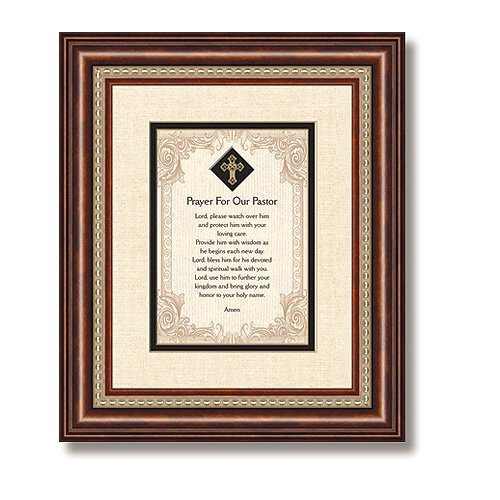 Prayer For Our Pastor Framed Tabletop Christian Verse