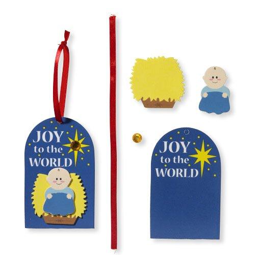 Joy to the World Foam Ornament Kit