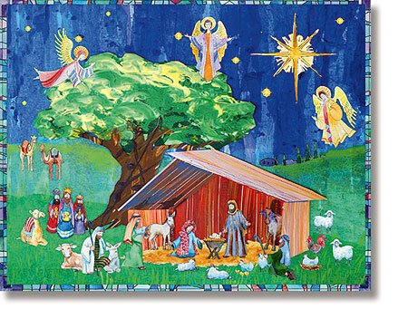 O Holy Night Calendar with Stickers