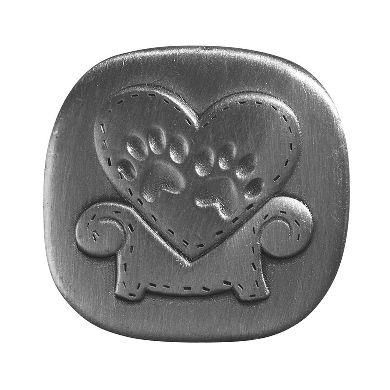 Memorial Pet Pocket Token - Paw Prints - 6/pk