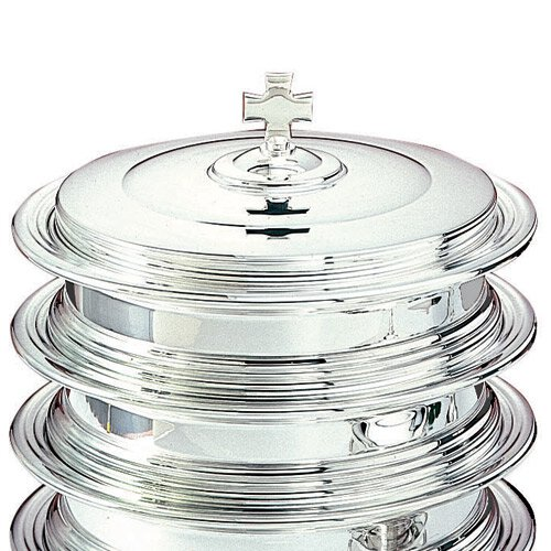 Silver Plated Communion Tray Cover