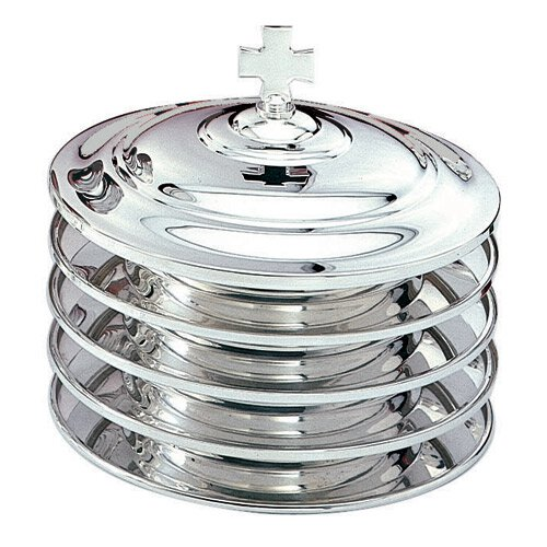 Silver Plated Stacking Bread Plate