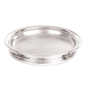 Silver Plated Self-Stacking Bread Plate