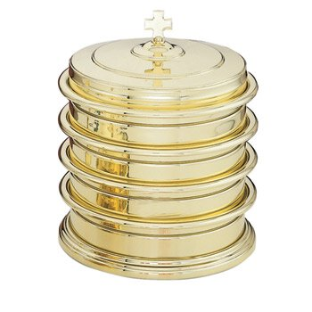 Highly Polished Solid Brass Communion Tray