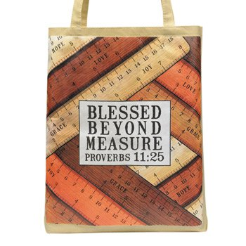 Blessed Beyond Measure Tote Bag - 12/pk
