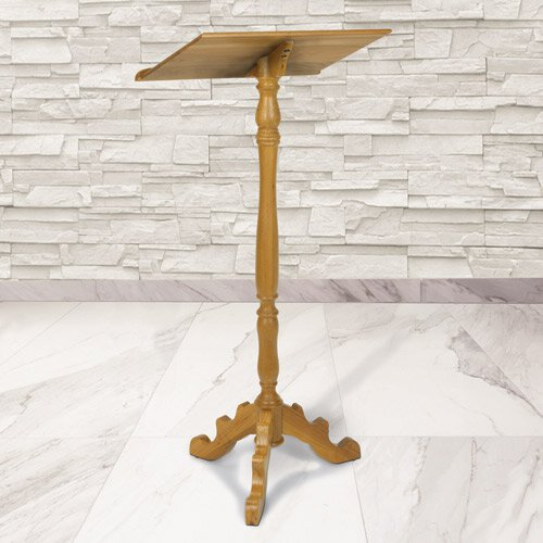 Lectern - Medium Oak Stain