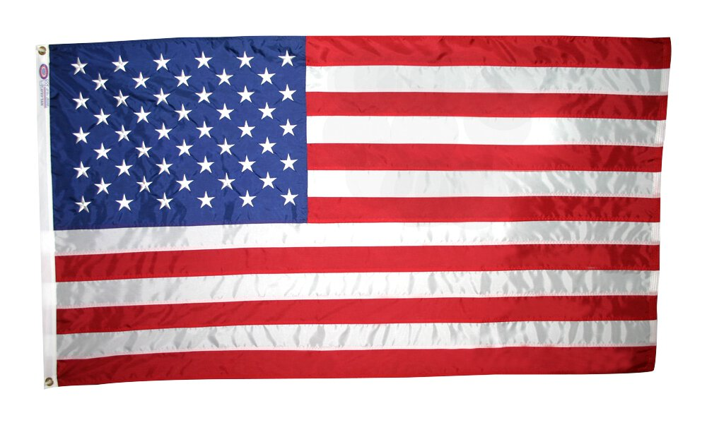 Outdoor American Flag
