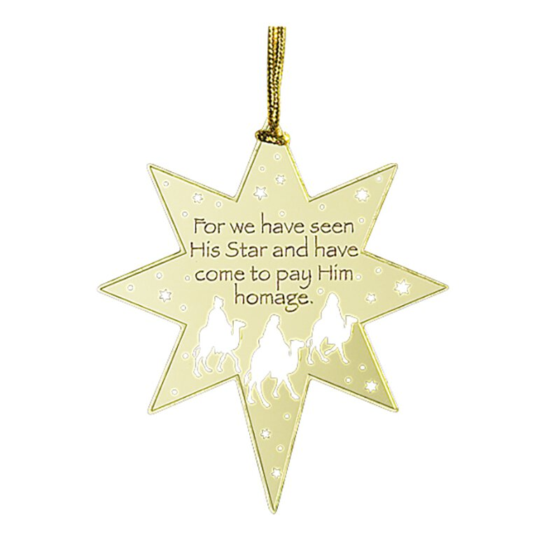 For We Have Seen His Star Ornament