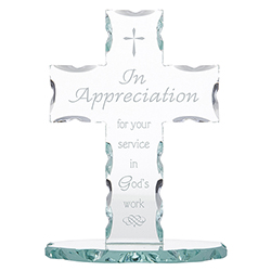 In Appreciation for your Service Standing Cross