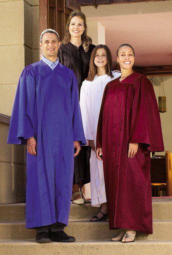 Cambridge™ Classic Choir Gown - Satin Finish