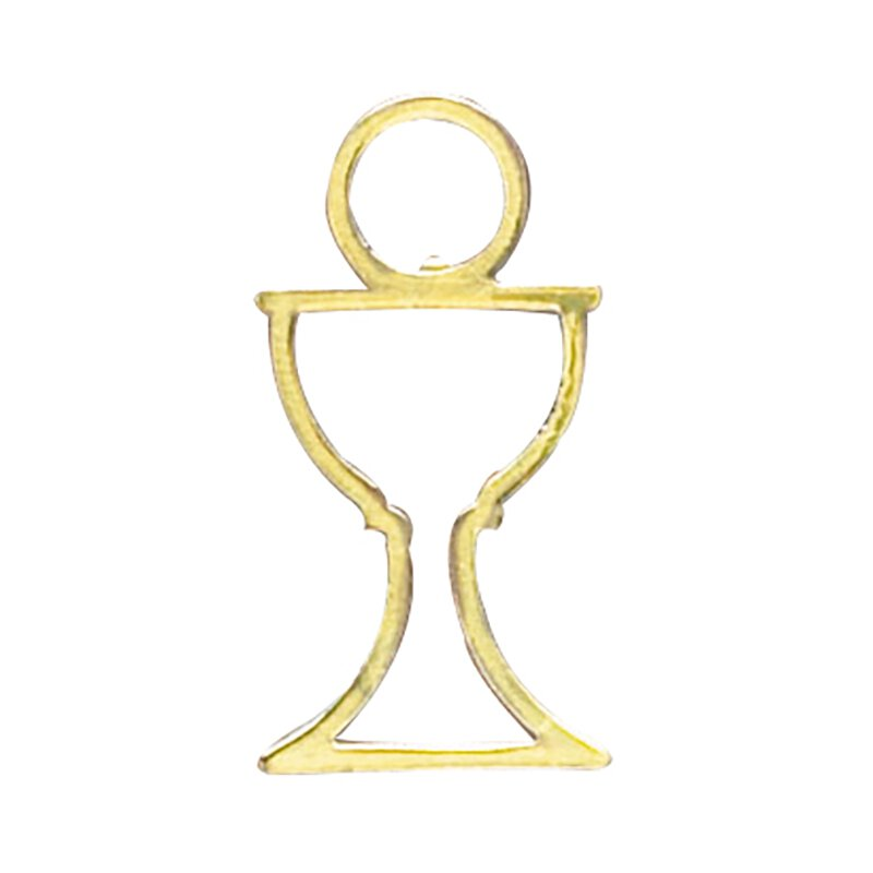 Cut-Out Chalice Pin