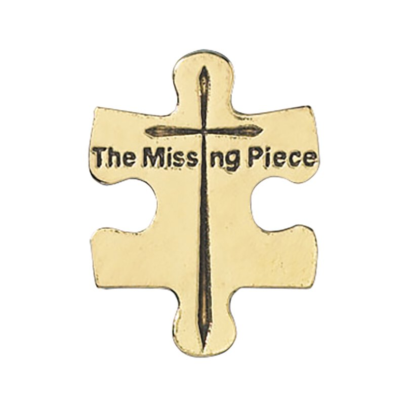 The Missing Piece Pin - 25/pk