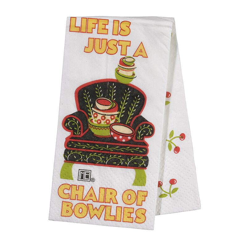 Life is a Chair of Bowlies - Tissues - 24/pk