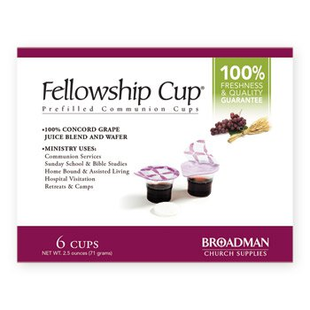 Fellowship Cup™ Wafer and Juice Set  - 6/bx