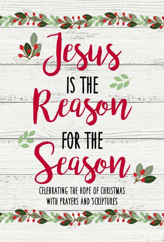 Jesus Is The Reason Devotional Book 12pk
