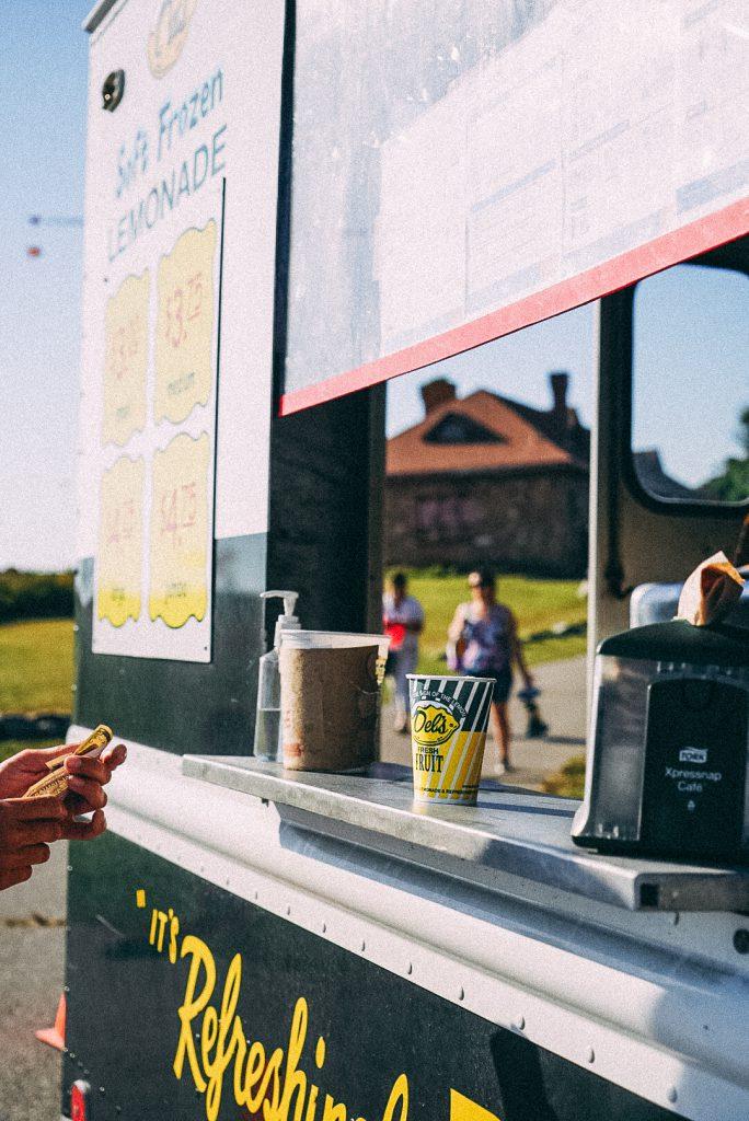 food trucks in Newport