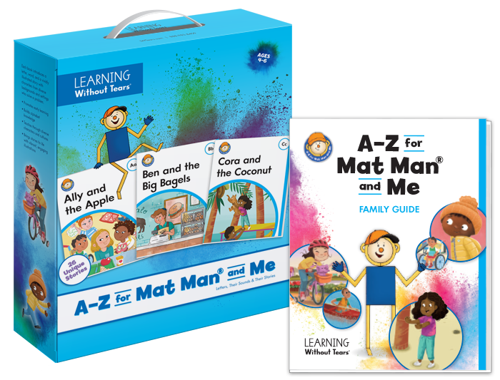 A-Z for Mat Man® and Me: Individual Reader Set